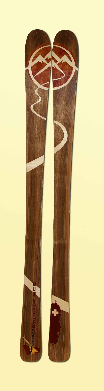 Amon Dava ski bois Thierry Vex