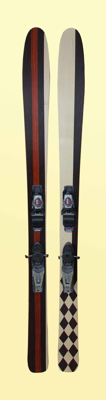 Amon Dava ski bois rude damier