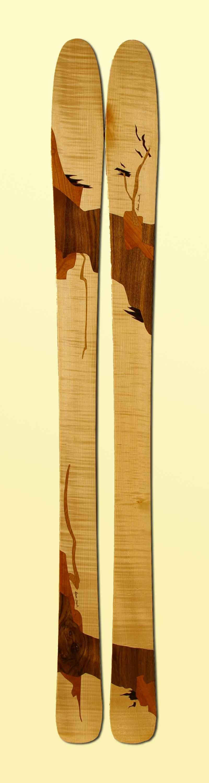 Amon Dava ski bois jap 173