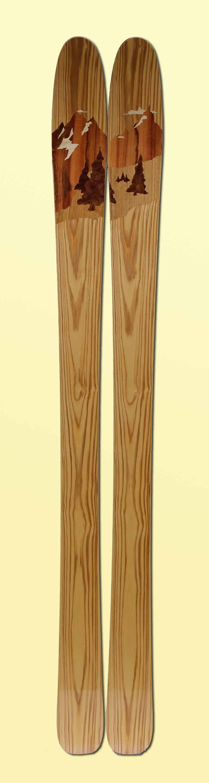 12 Amon Dava ski bois