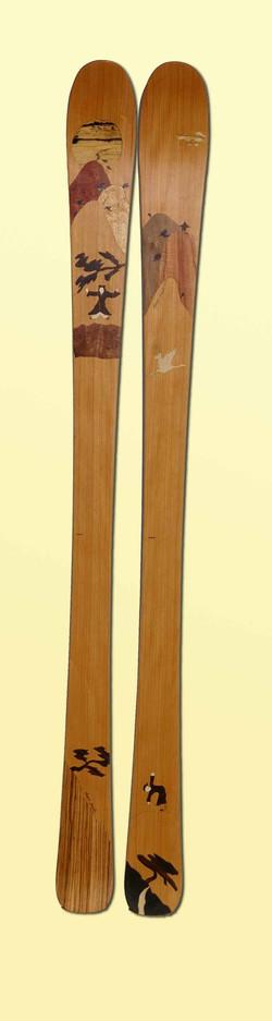 amon dava ski bois taoistes