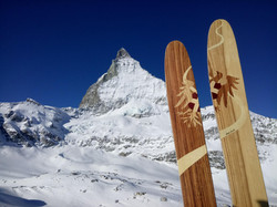 Amon dava skis personnalisés cervin