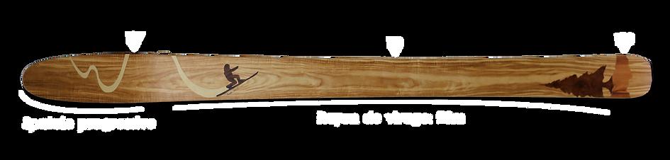 Skis Poudre Amon Davà