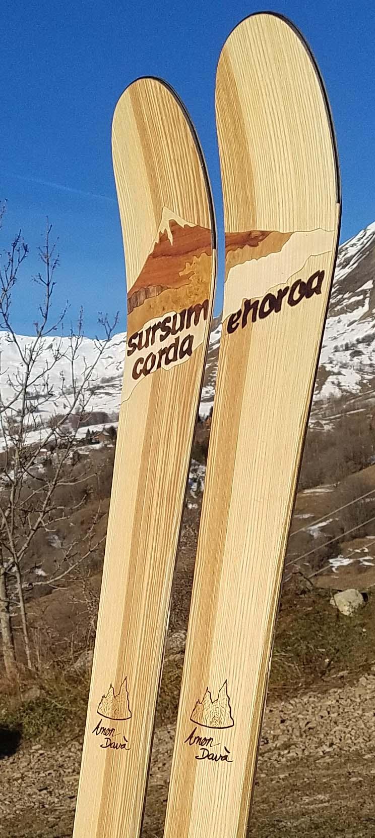 Amon Dava ski bois mont fuji