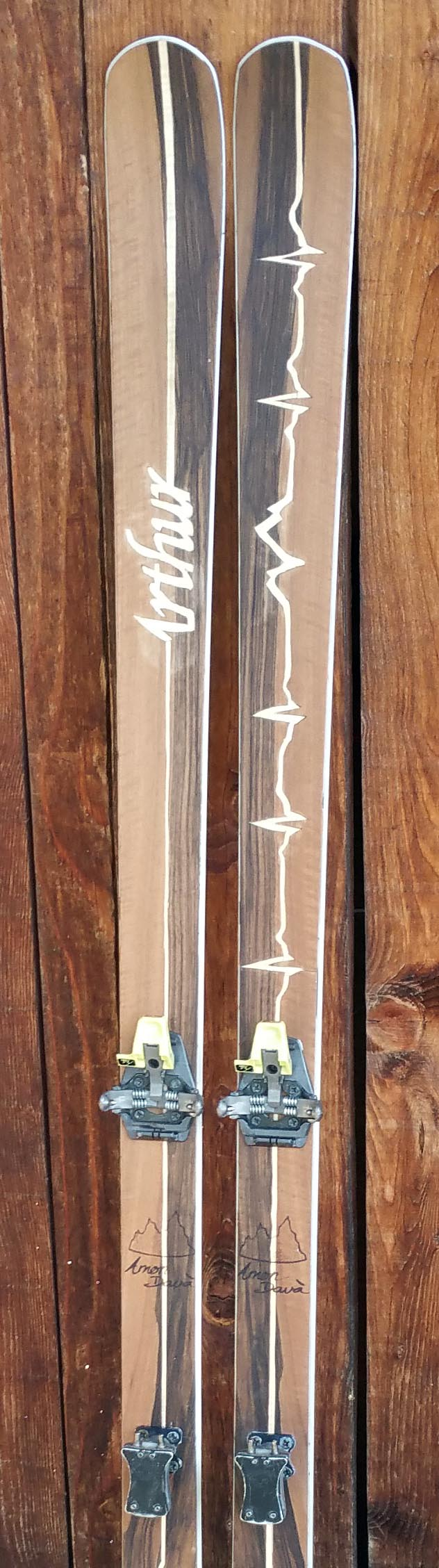 Amon Dava ski bois arthur et lilou