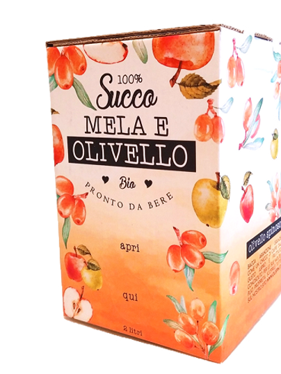 Succo mela e olivello spinoso