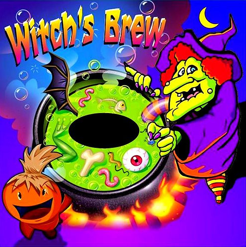 Witch's Brew Frame Game