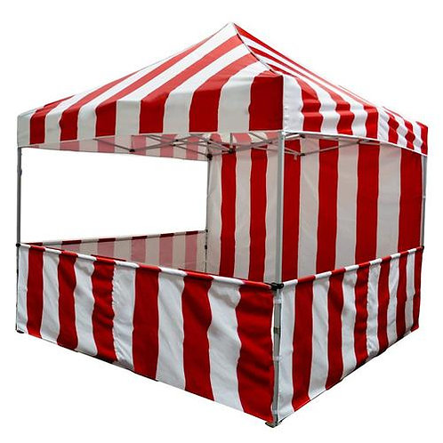 Carnival Booth Red