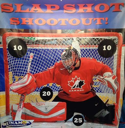 Slapshot Shootout Frame Game
