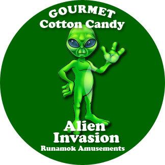 Alien Invasion Green