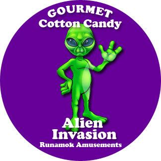 Alien Invasion Purple