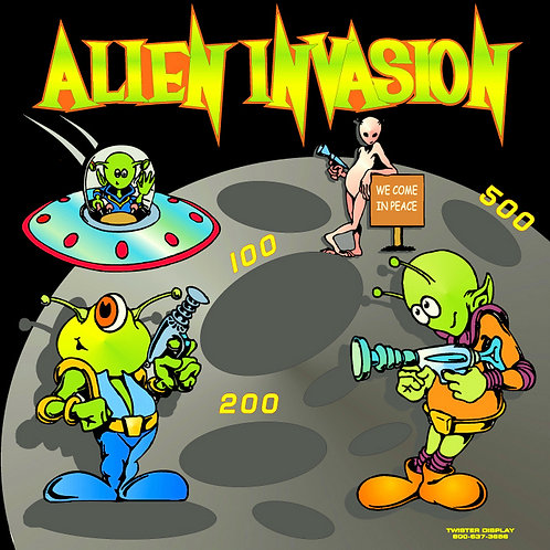 Alien Frame Game