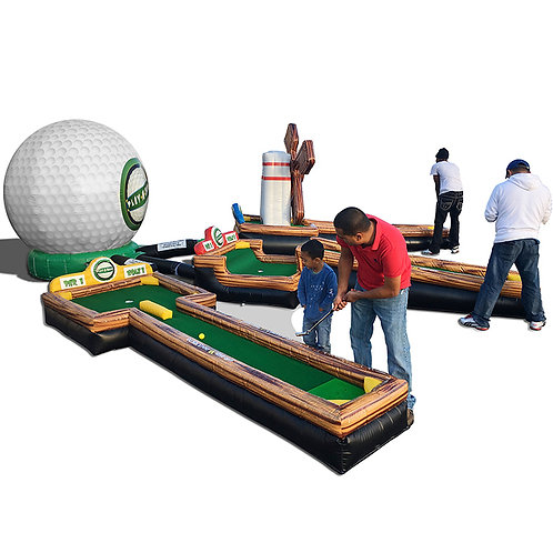 Inflatable Golf Course 3 Holes