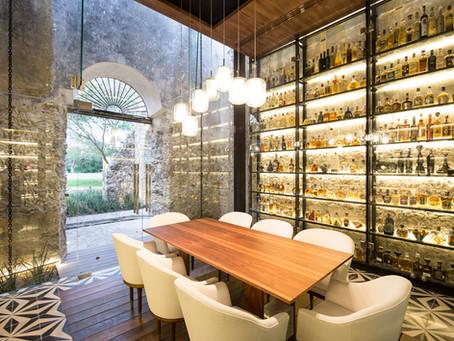 REVISTA ROUGH PAST MEETS NEW DESIGN: Restaurante Ixi'im