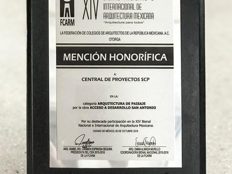 XIV Bienal de Arquitectura Mexicana