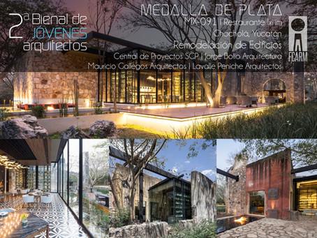 ARCHDAILY MEXICO: ¡Conoce a los ganadores de la Segunda Bienal de Jóvenes Arquitectos en México!