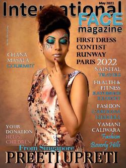 Preeti Upreti magazine