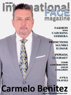 Carmelo Benitez magazine