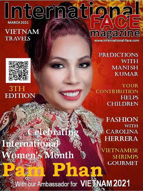 Pam Phan magazine 3rd Edition