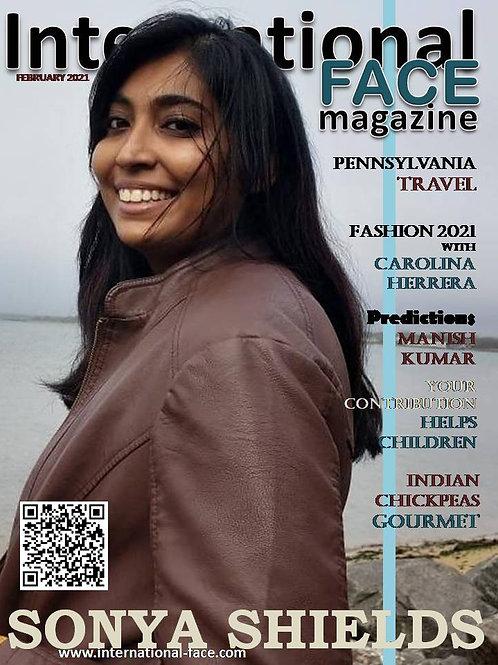 Sonya Shields magazine