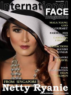 Netty Ryanie magazine
