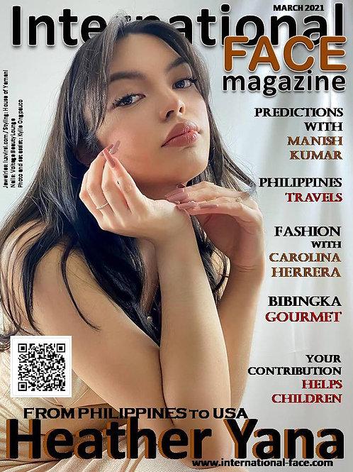 Heather Yana magazine