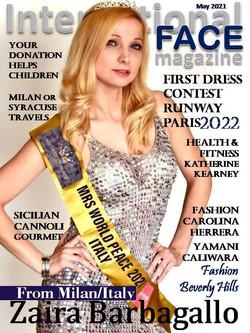 Zaira Barbagallo magazine I