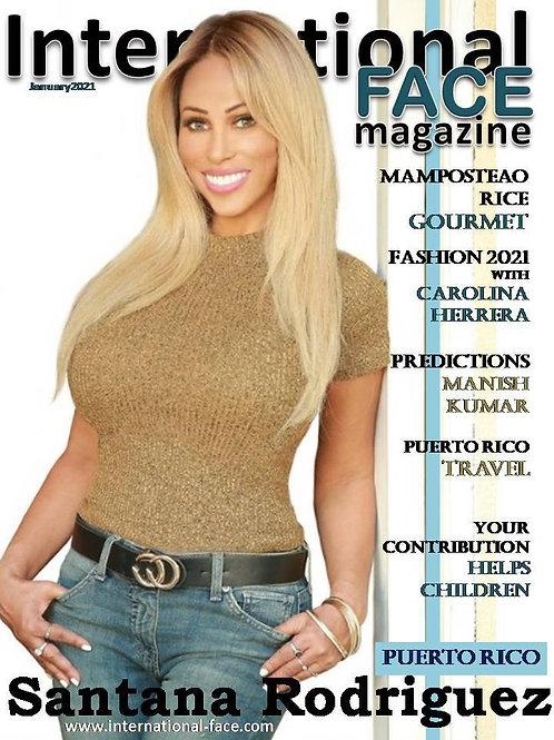 Santana Rodriguez magazine