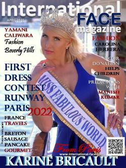 Karine Bricault magazine