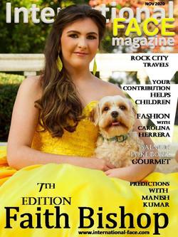 Faith Bishop 7th magazine
