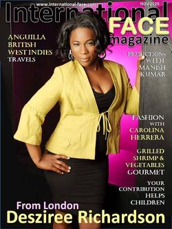 Desziree Richardson magazine
