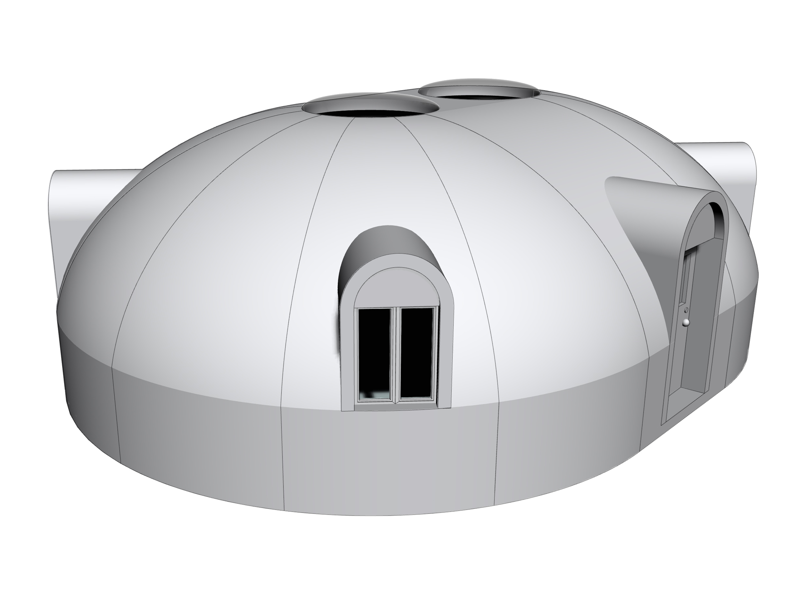 Duplex Dome-V2 window