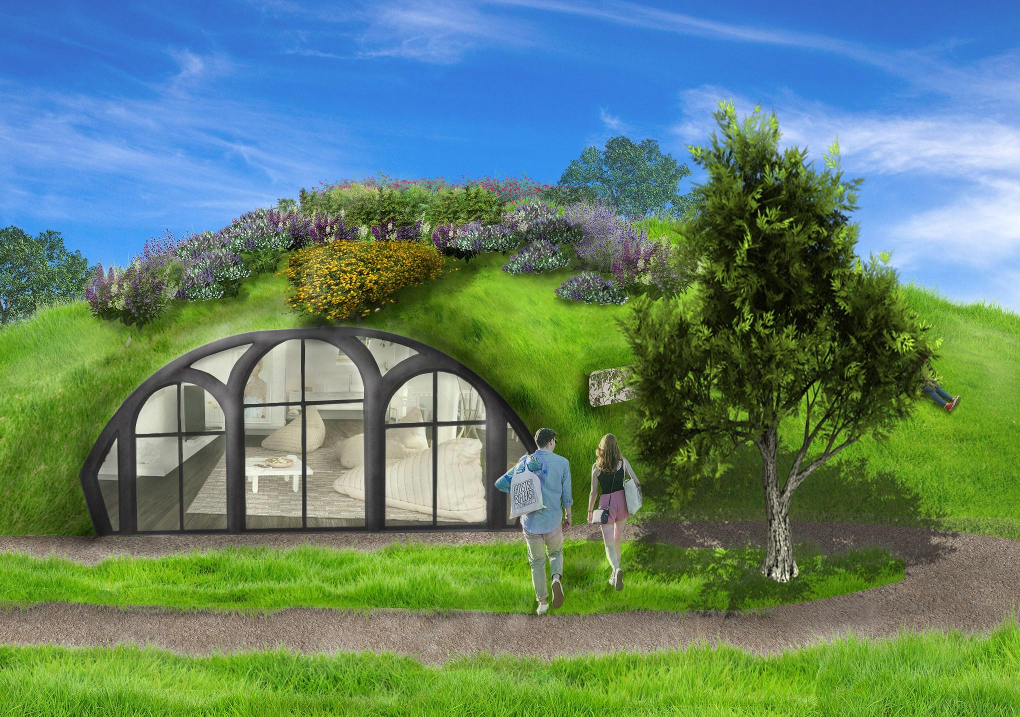 Habitus hobbit dome