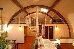 Dome Interior with mezzanine