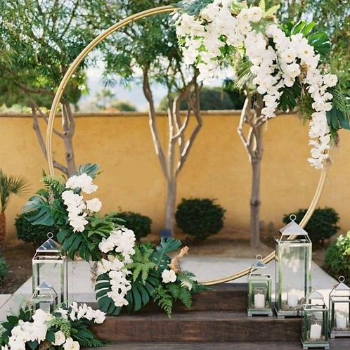 Location arche ronde mariage