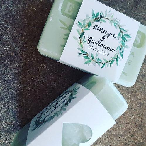 Lot de 50 savons : Plusieurs parfums