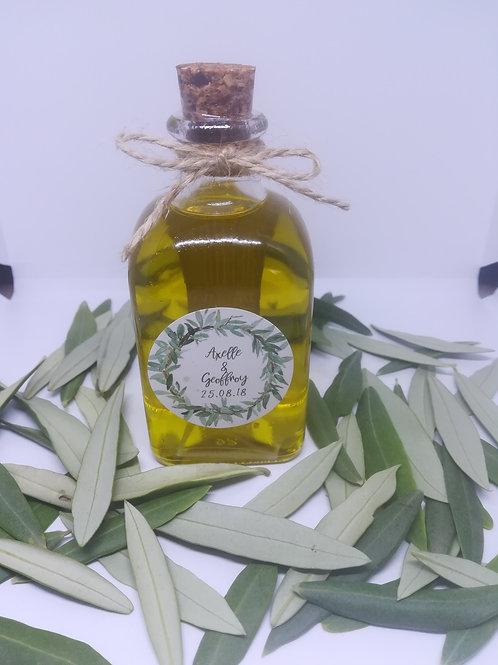 Mignonnettes d'huile d'olive Bio de 100 ml