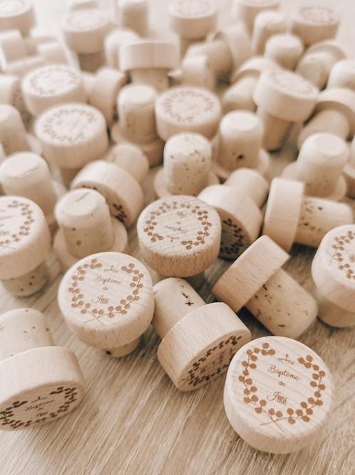 Lot de bouchons à vin/champagne - wine stopper