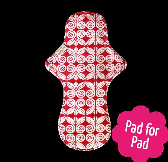 Eco Femme 淨色內層30cm夜用布衛生巾(含防漏層)