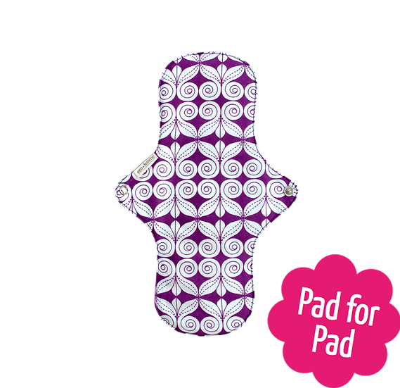 Eco Femme 淨色內層27cm日用布衛生巾(含防漏層)