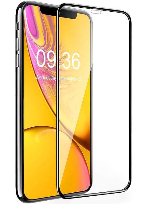 Verre Trempé - iPhone 11 Pro - Noir intégral