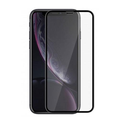 Verre Trempé - iPhone XR - Noir intégral
