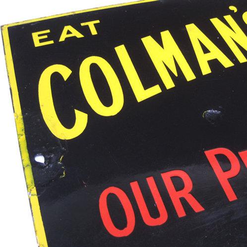 Coleman's Vitreous Enamel