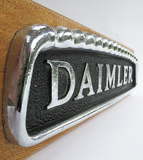 Daimler Bus Badge