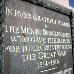 Brockenhurst War Memorial