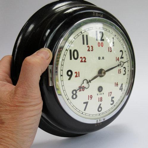 BR(W) 6inch Signal Box Clock