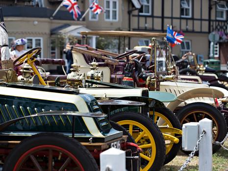 Cars on Datchet Green