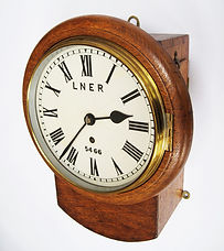 LNER drop dial 8inch wall clock