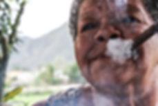 Ritratto Cuba sigaro