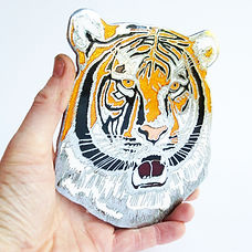 Leyland Tigers Head Bus Badge